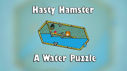 Hasty hamster and the sunken pyramid: A water puzzle