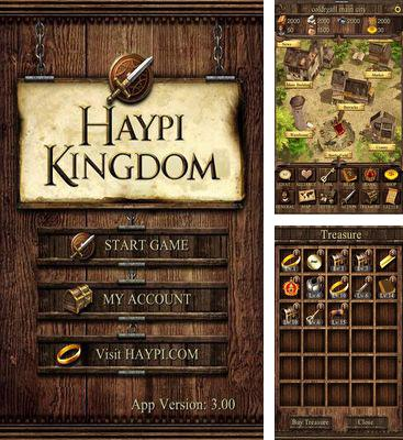 In addition to the game Undersky: the eternal saga for Android phones and tablets, you can also download Haypi Kingdom for free.