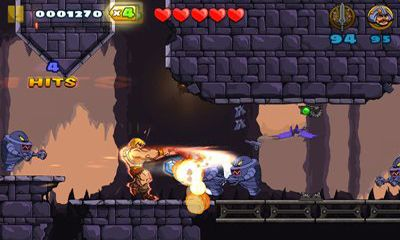 Écrans de He-Man: The Most Powerful Game in the Universe pour tablette et téléphone Android.