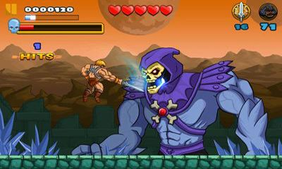 Capturas de pantalla de He-Man: The Most Powerful Game in the Universe para tabletas y teléfonos Android.