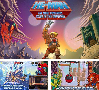 En plus du jeu Le Dragon Double: la Trilogie pour téléphones et tablettes Android, vous pouvez aussi télécharger gratuitement He-Man: Le Jeu Le Plus Puissant De L'Univers, He-Man: The Most Powerful Game in the Universe.