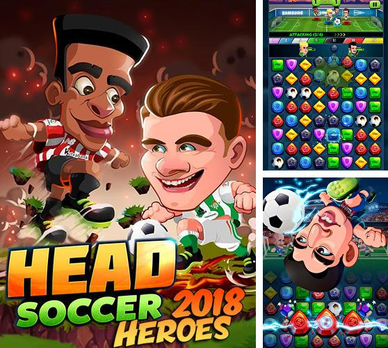 Head soccer heroes 2018: Football game