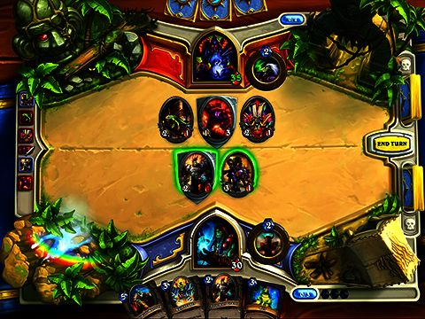 Hearthstone: Heroes of Warcraft für Android spielen. Spiel Hearthstone: Helden von Warcraft kostenloser Download.