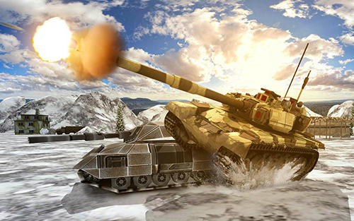 Screenshots von Heavy army war tank driving simulator: Battle 3D für Android-Tablet, Smartphone.