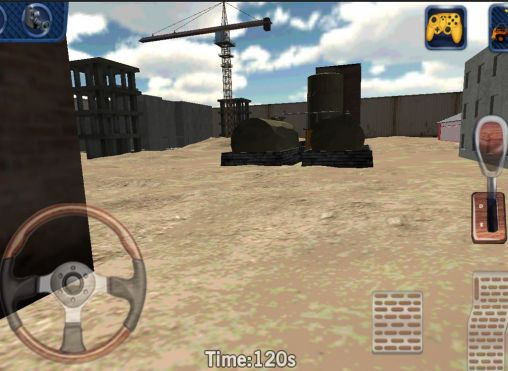 Screenshots von Heavy truck 3D: Cargo delivery für Android-Tablet, Smartphone.