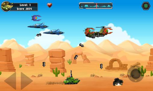 Screenshots von Heavy weapon: Rambo tank für Android-Tablet, Smartphone.