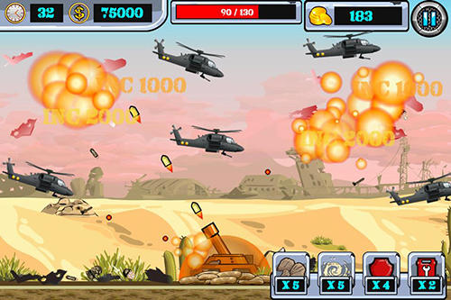 Heli invasion 2: Stop helicopter with rocket screenshot 3