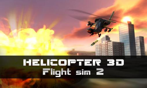 Helicopter 3D: Flight sim 2 poster