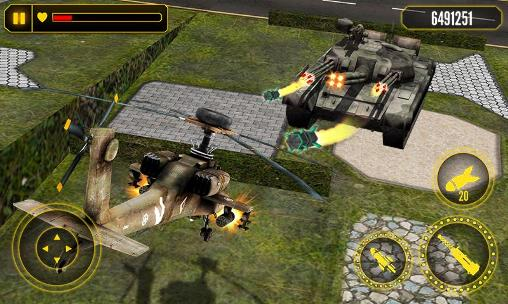 Helicopter battle 3D screenshot 1
