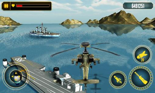 Helicopter battle 3D screenshot 2