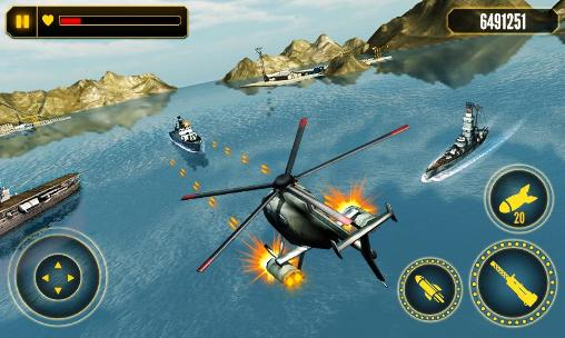 Helicopter battle 3D screenshot 3