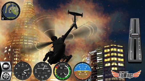 Helicopter simulator 2016. Flight simulator online: Fly wings screenshot 1
