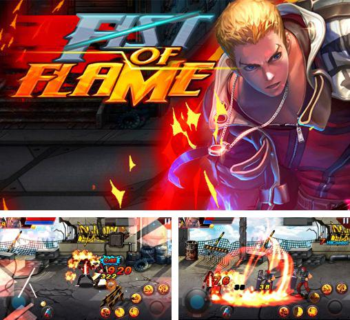 En plus du jeu Le combat de Rambo  pour téléphones et tablettes Android, vous pouvez aussi télécharger gratuitement La flamme infernale: Le roi des combattants. Le poing enflammé , Hell fire: Fighter king. Fist of flame.