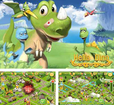 In addition to the game Dino Paradise for Android phones and tablets, you can also download Hello Dino for free.