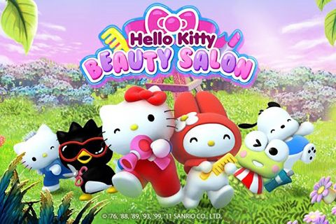 Hello Kitty beauty salon обложка