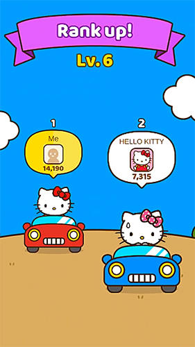 Screenshots von Hello Kitty friends für Android-Tablet, Smartphone.