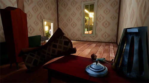 Геймплей Hello neighbor для Android телефону.