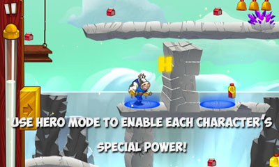 Screenshots do Herd Of Heroes - Perigoso para tablet e celular Android.
