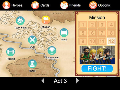 Screenshots von Hero fighter X für Android-Tablet, Smartphone.