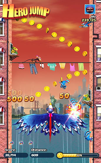 Hero jump screenshot 1