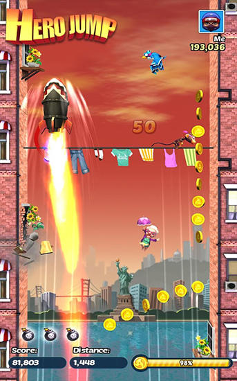 Hero jump screenshot 2