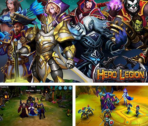 Zusätzlich zum Spiel Windnarbe für Android-Telefone und Tablets können Sie auch kostenlos Hero legion online: 3D real time tactical MMO RPG, Helden-Legion Online: Taktisches Echtzeit MMORPG herunterladen.