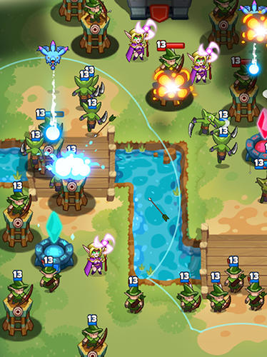 Screenshots von Hero of empire: Battle clash für Android-Tablet, Smartphone.