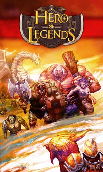 Hero of legends poster