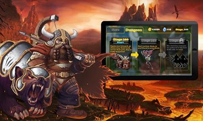 Kostenloses Android-Game Held von Macht und Magie. Vollversion der Android-apk-App Hirschjäger: Die Hero of Might and Magic für Tablets und Telefone.