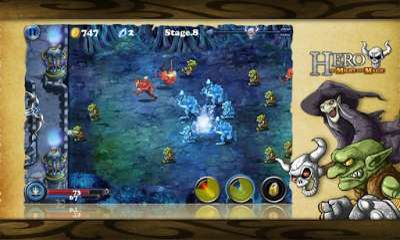 Screenshots von Hero of Might and Magic für Android-Tablet, Smartphone.