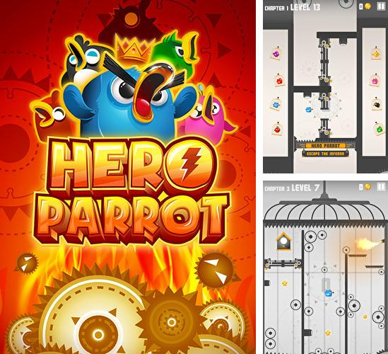 In addition to the game Pac-Man hats 2 for Android phones and tablets, you can also download Hero parrot for free.