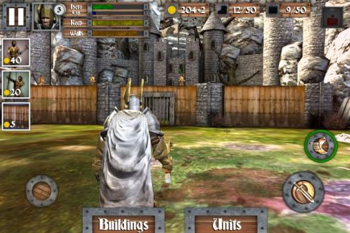 Screenshots von Heroes and castles  für Android-Tablet, Smartphone.