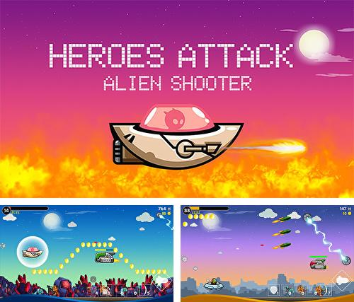 In addition to the game Metal shooter: Run and gun for Android phones and tablets, you can also download Heroes attack: Alien shooter for free.