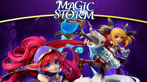 Heroes era: Magic storm poster