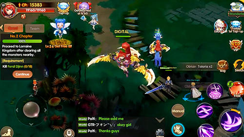Heroes era: Magic storm screenshot 1