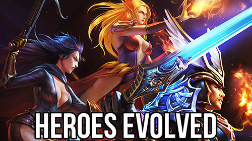 Heroes evolved poster