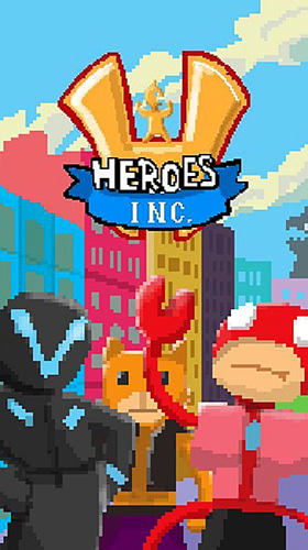 Heroes inc. 2 poster