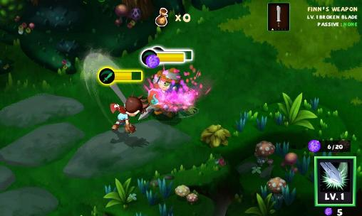 Screenshots of the Heroes: Islands of adventure for Android tablet, phone.