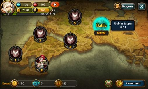 Heroes of Atlan screenshot 2