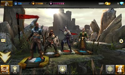 Screenshots von Heroes of Dragon Age für Android-Tablet, Smartphone.