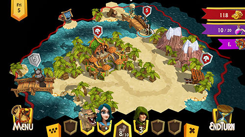 Screenshots von Heroes of Flatlandia für Android-Tablet, Smartphone.