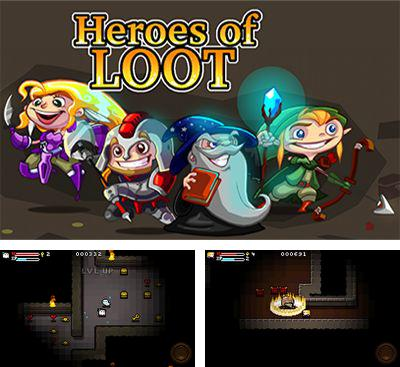 In addition to the game Hero siege for Android phones and tablets, you can also download Heroes of loot for free.