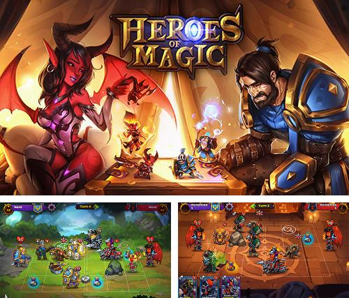 Zusätzlich zum Spiel Hi Lord für Android-Telefone und Tablets können Sie auch kostenlos Heroes of magic: Card battle RPG, Helden der Magie: Kartenkampf RPG herunterladen.