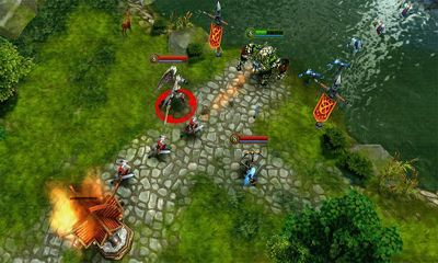 Screenshots von Heroes of Order & Chaos für Android-Tablet, Smartphone.