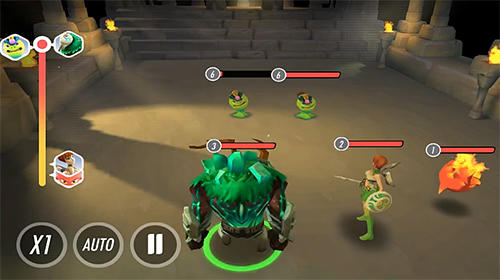 Heroes of rings: Dragons war screenshot 2