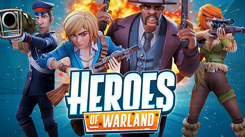 Heroes of warland: PvP shooting arena poster