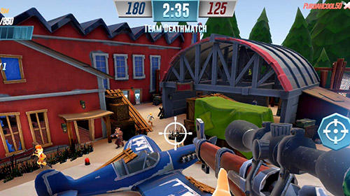 Heroes of warland: PvP shooting arena screenshot 3