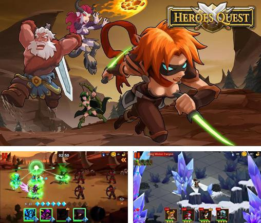 In addition to the game Tap cats: Idle warfare for Android phones and tablets, you can also download Heroes quest for free.