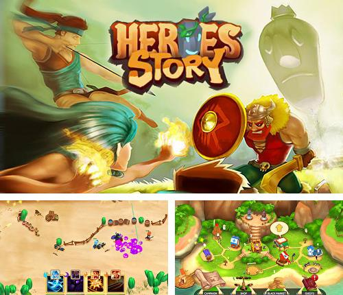 In addition to the game Creepy clown attack for Android phones and tablets, you can also download Heroes story for free.