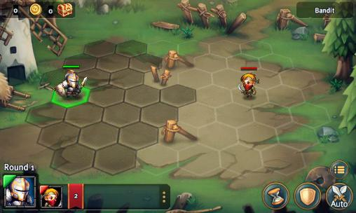 Screenshots von Heroes tactics and strategy für Android-Tablet, Smartphone.